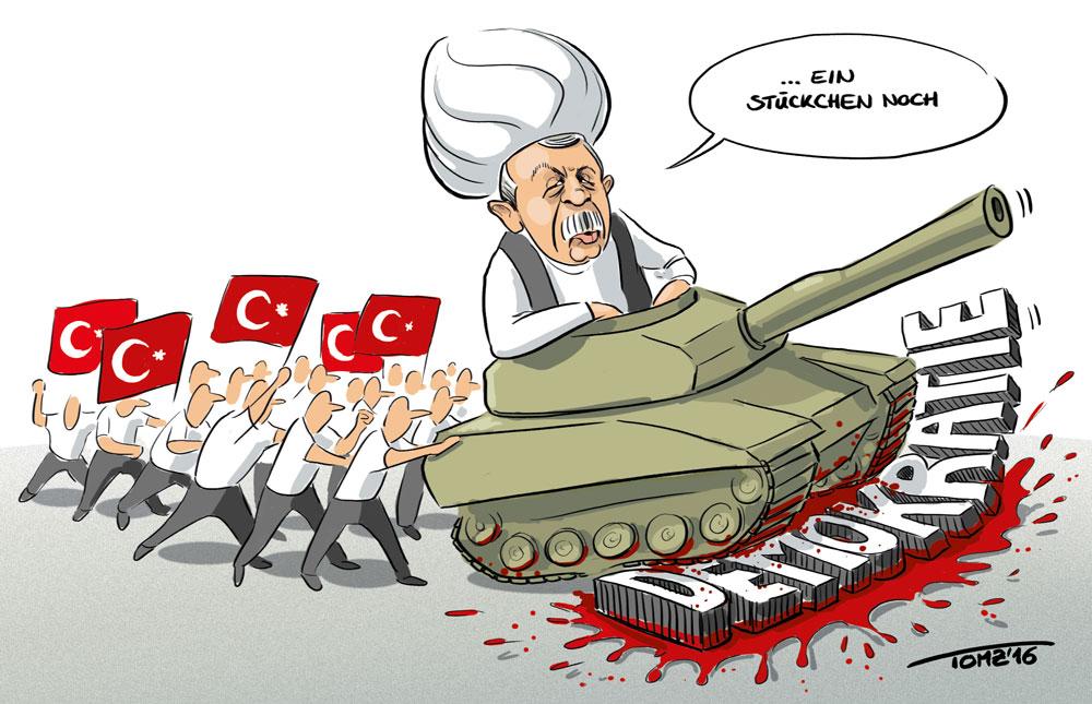 Türkei Putsch Erdogan Demokratie